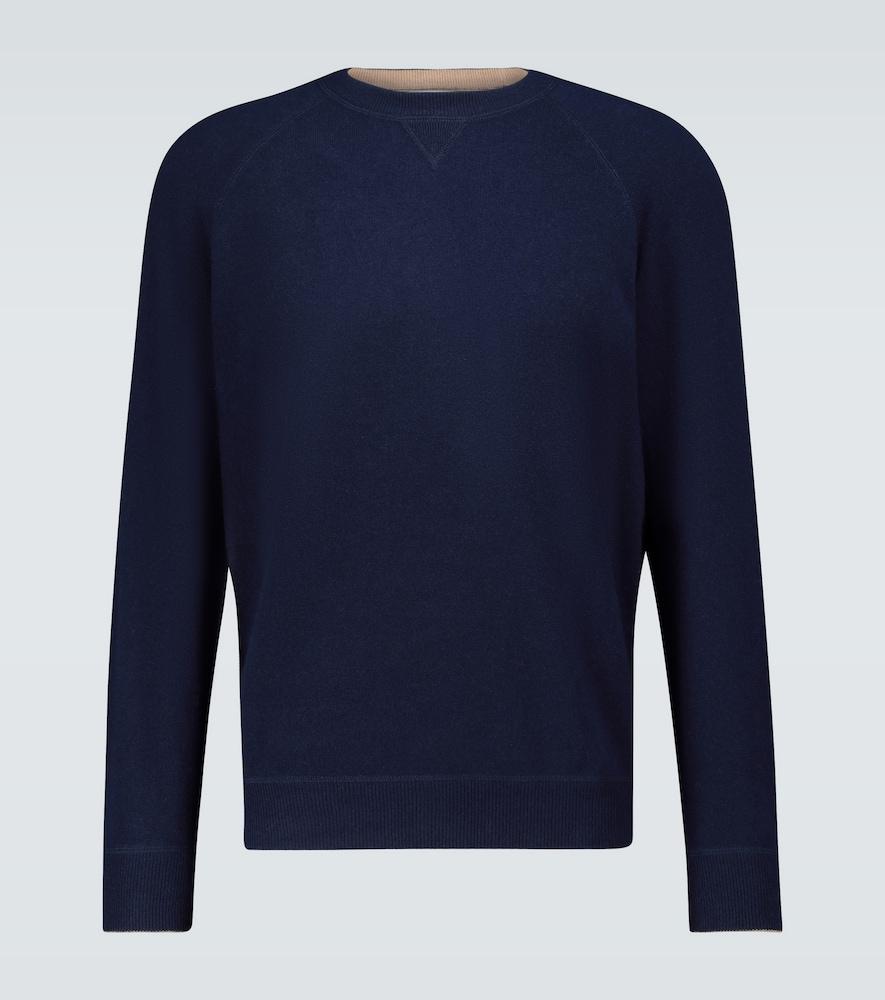 Pull en laine et cachemire - Brunello Cucinelli - Modalova