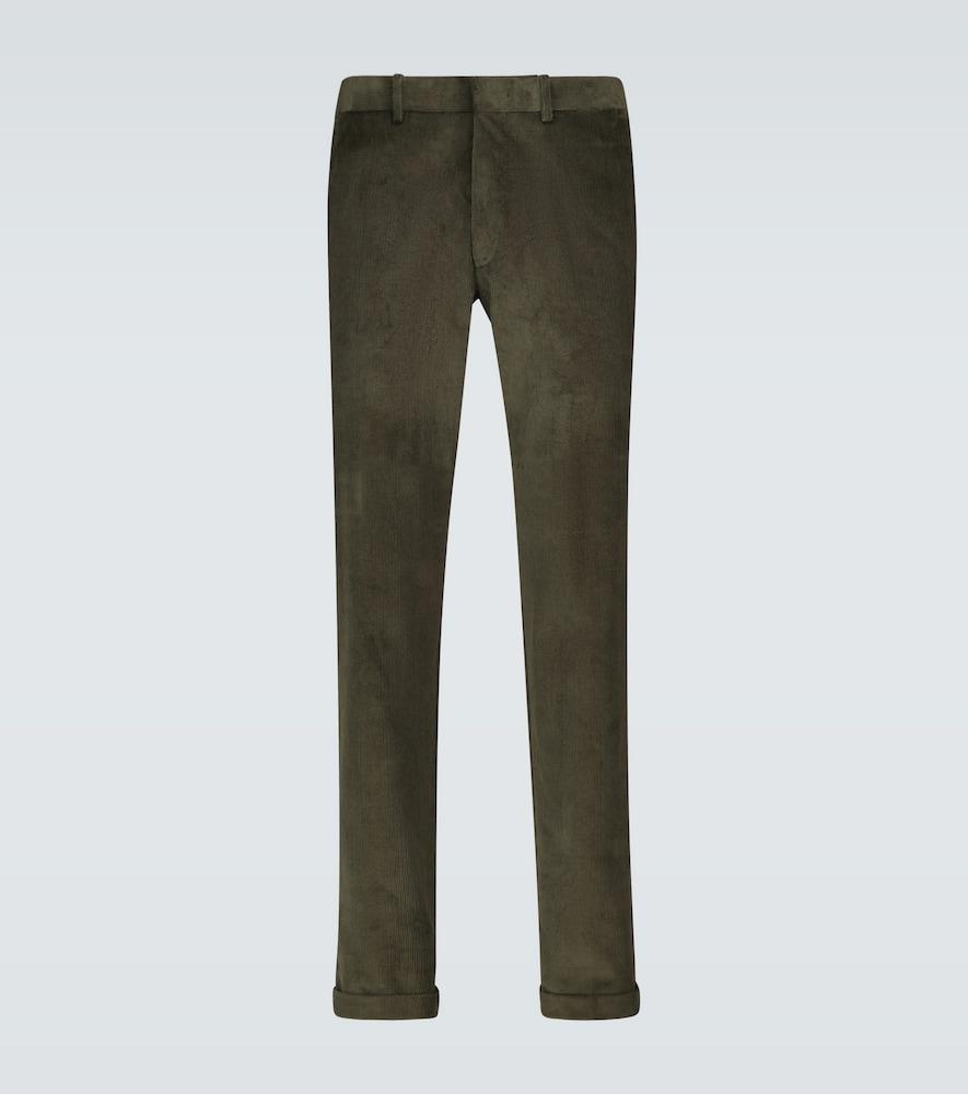 Regular-fit corduroy pants