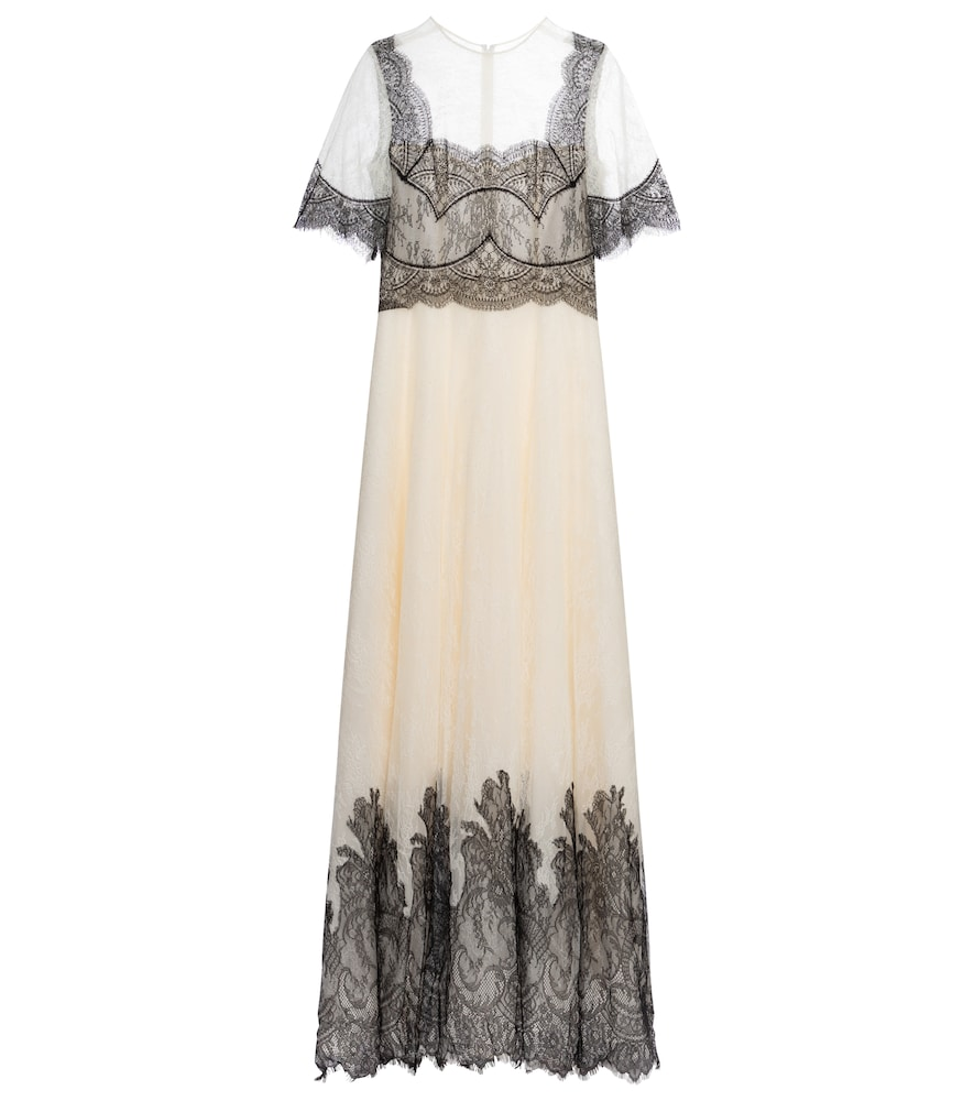 Avina lace gown