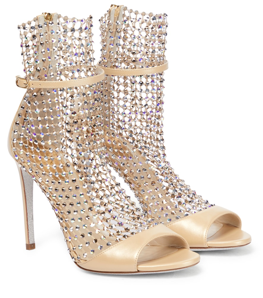 Galaxia embellished leather sandals