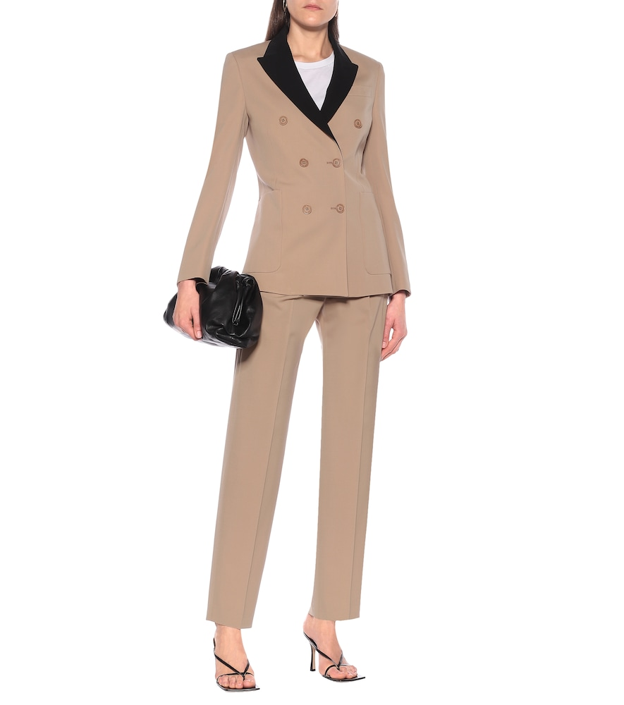 Stretch-wool double-breasted blazer by Stella McCartney