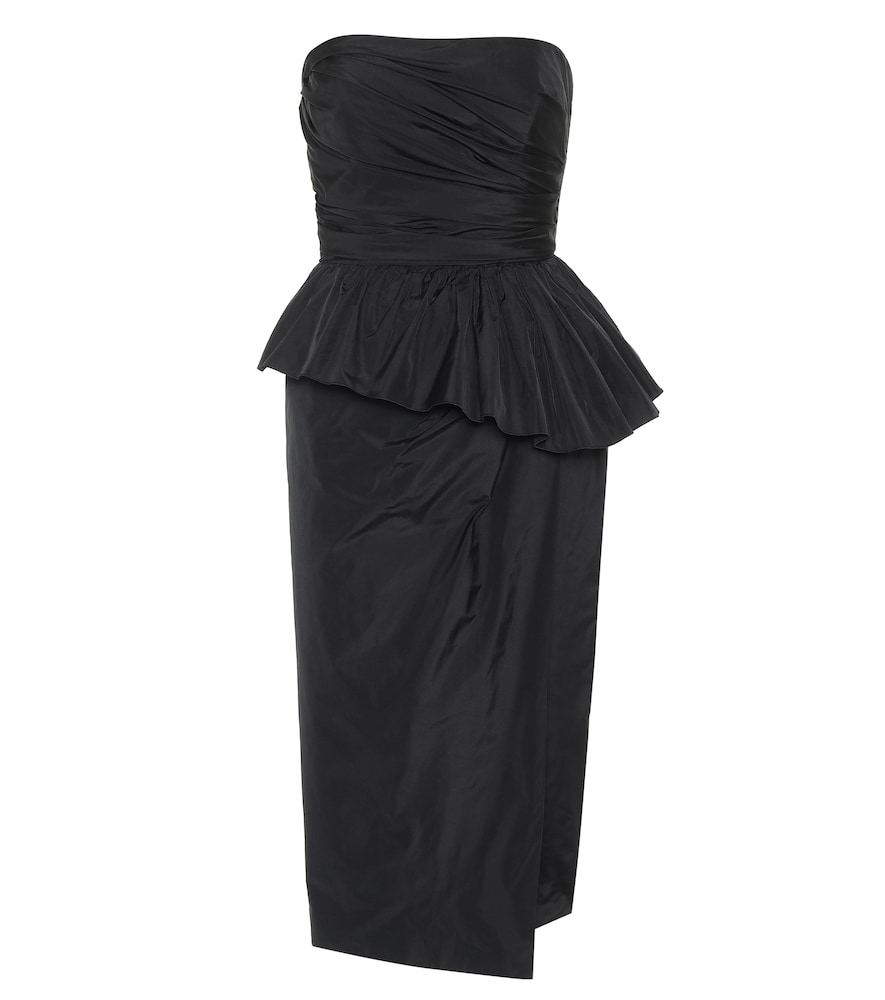 Elegante Matteo taffeta midi dress