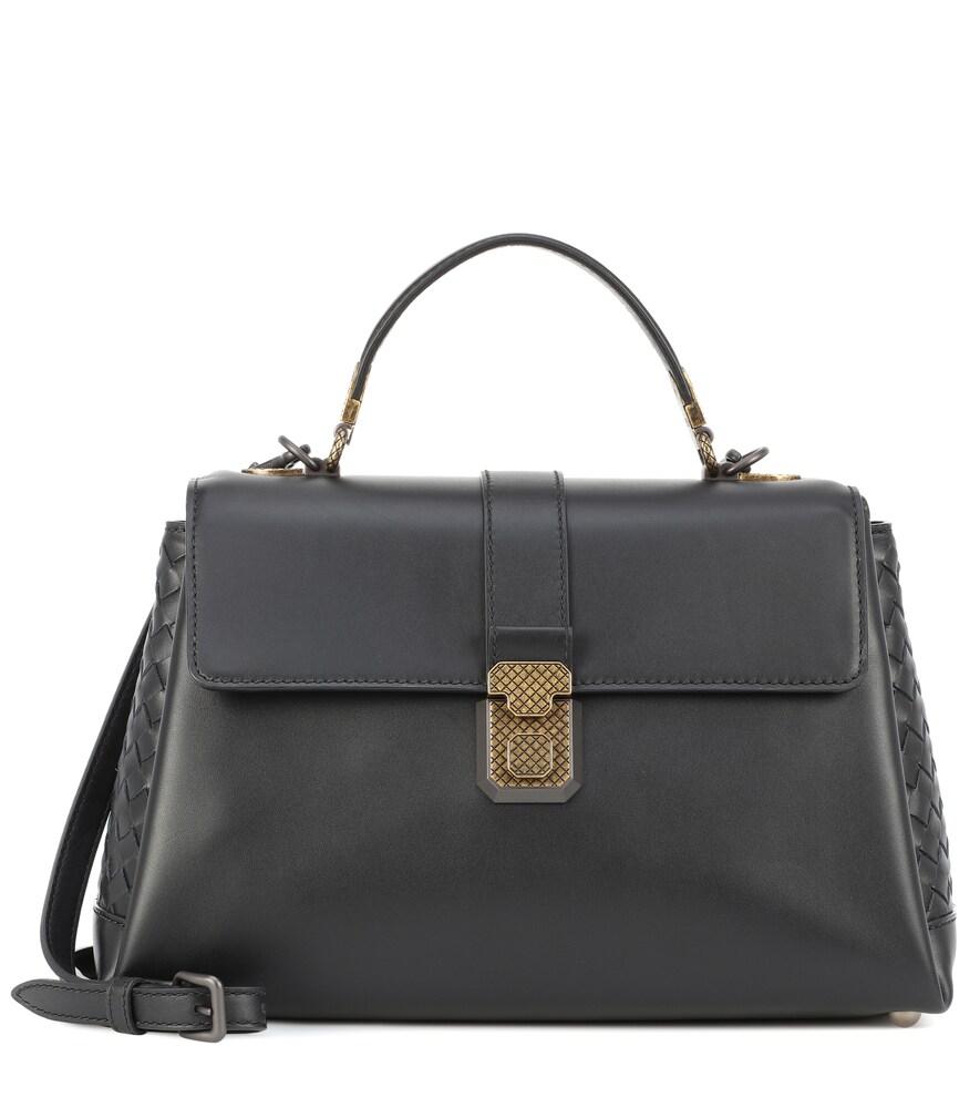 Medium Piazza leather shoulder bag