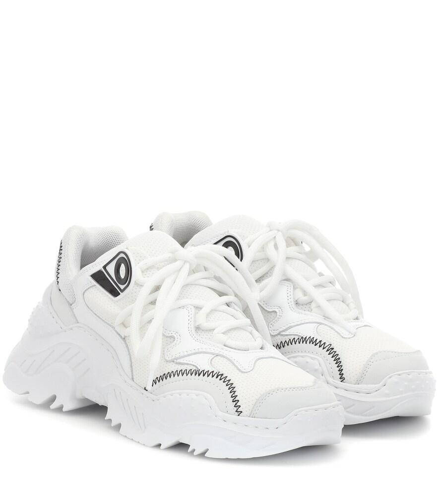 N°21 N&Deg;21 Oversize Running Sneaker In White