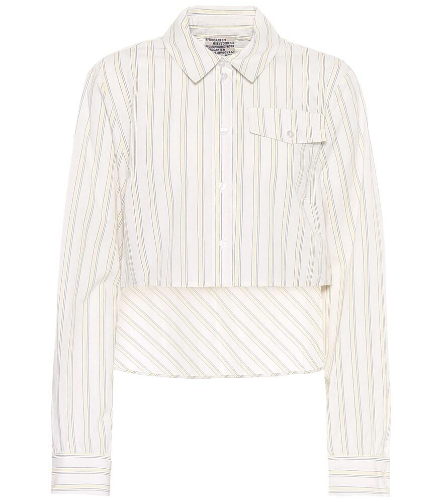 Chemise Mayuri rayée en coton