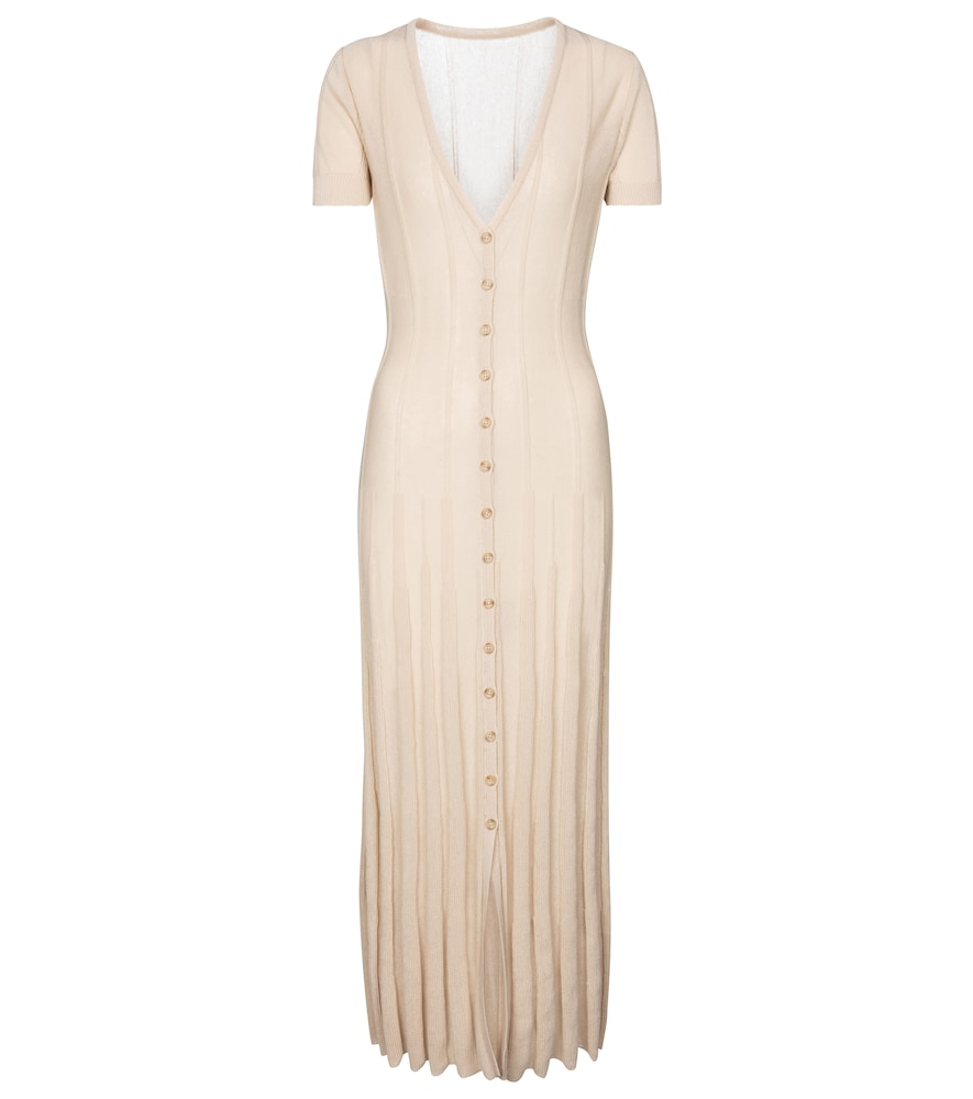 Jacquemus LA ROBE CARDIGAN MIDI DRESS