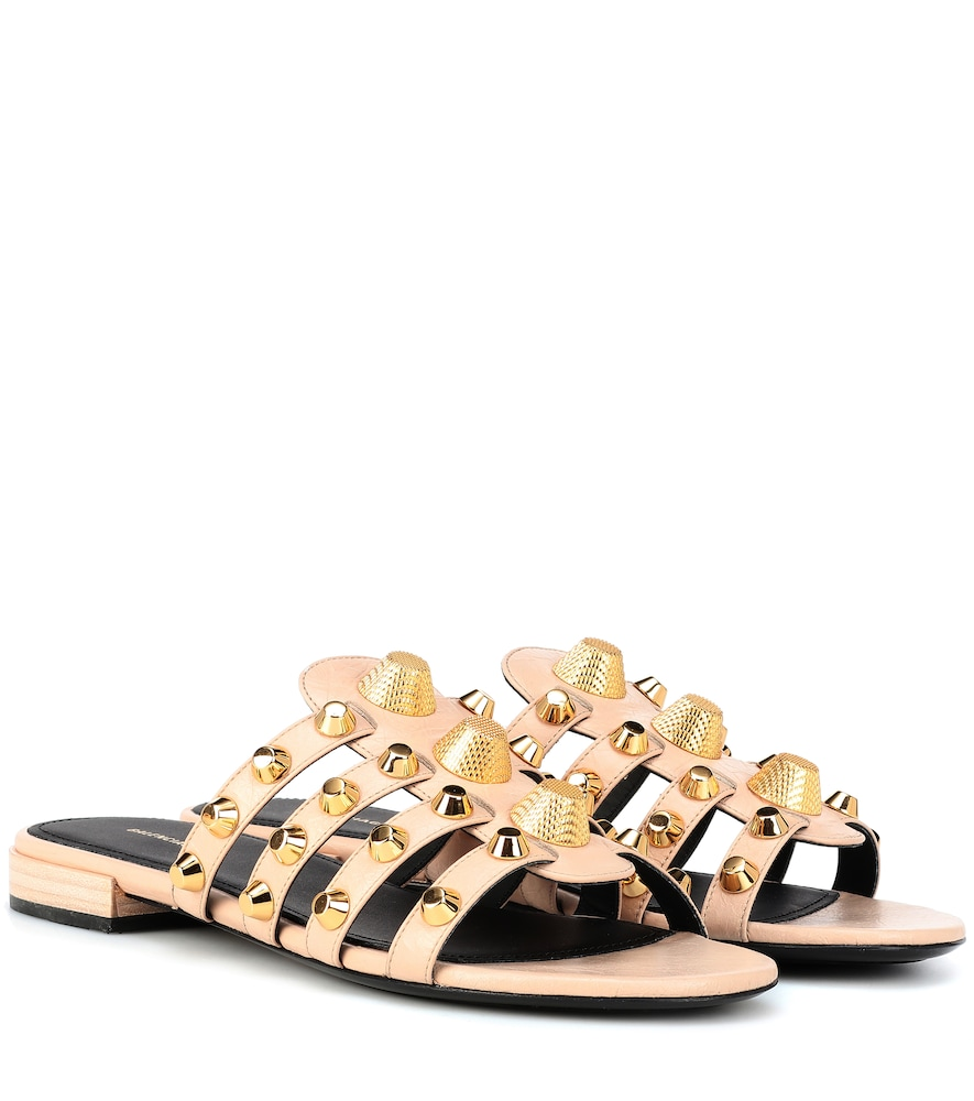 ARENA LEATHER SANDALS