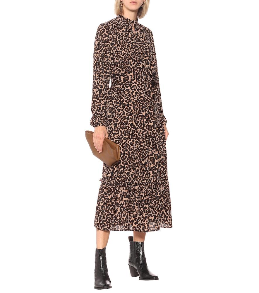 Antoinette leopard-print maxi dress by Baum und Pferdgarten