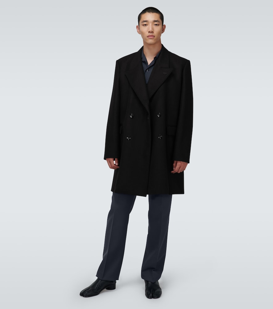 LEMAIRE Wools SHORT DOUBLE-BREASTED COAT