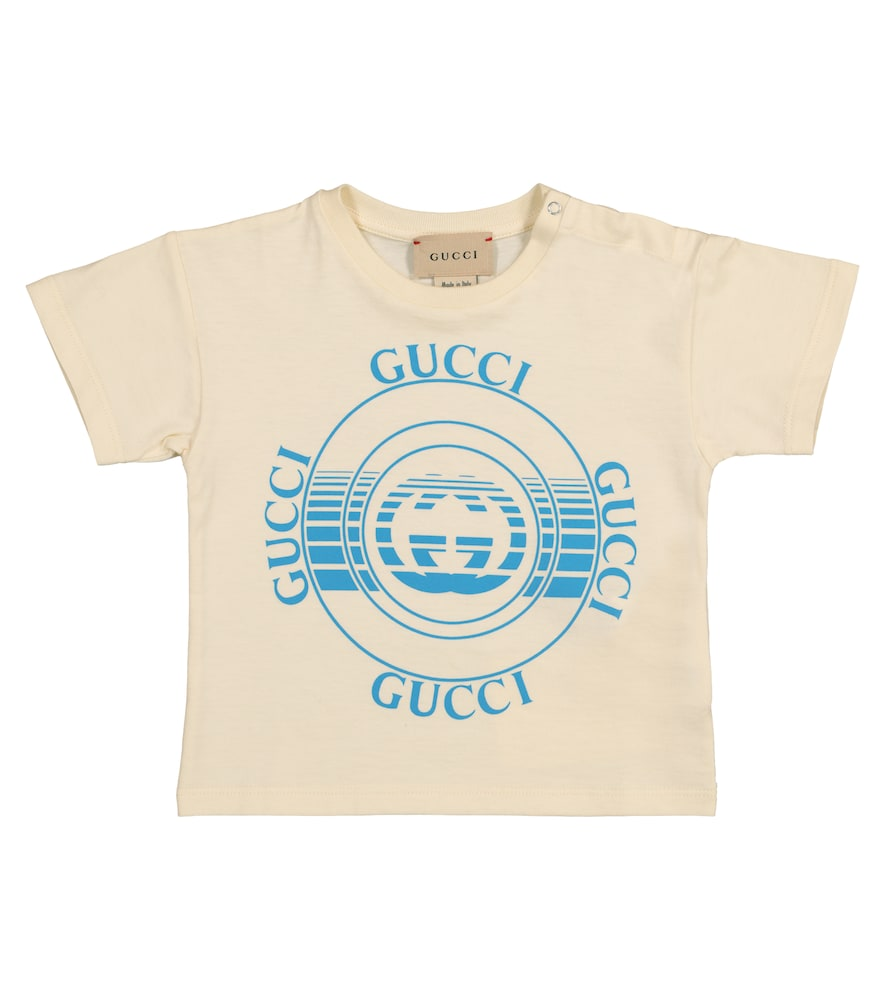 Gucci BABY LOGO COTTON JERSEY T-SHIRT