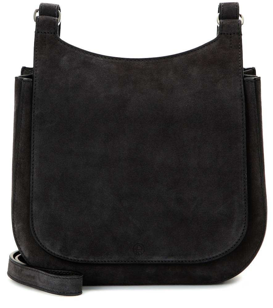 Hunting Suede Shoulder Bag