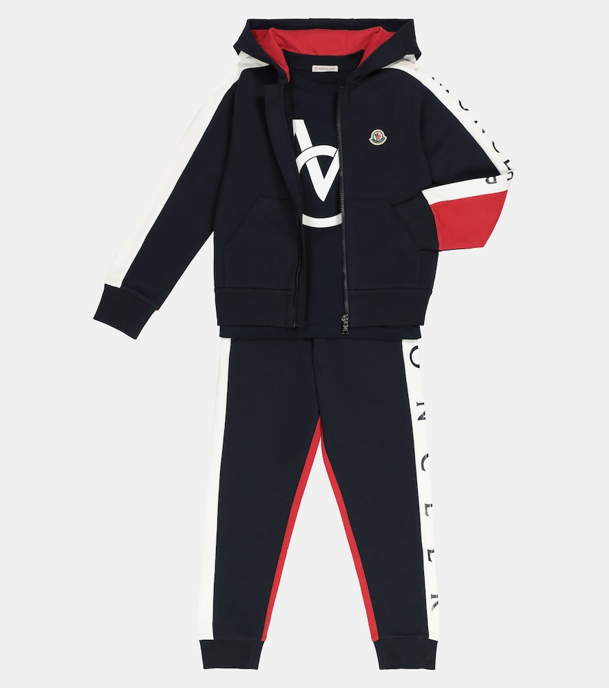 MONCLER Cottons ZIPPED COTTON HOODIE