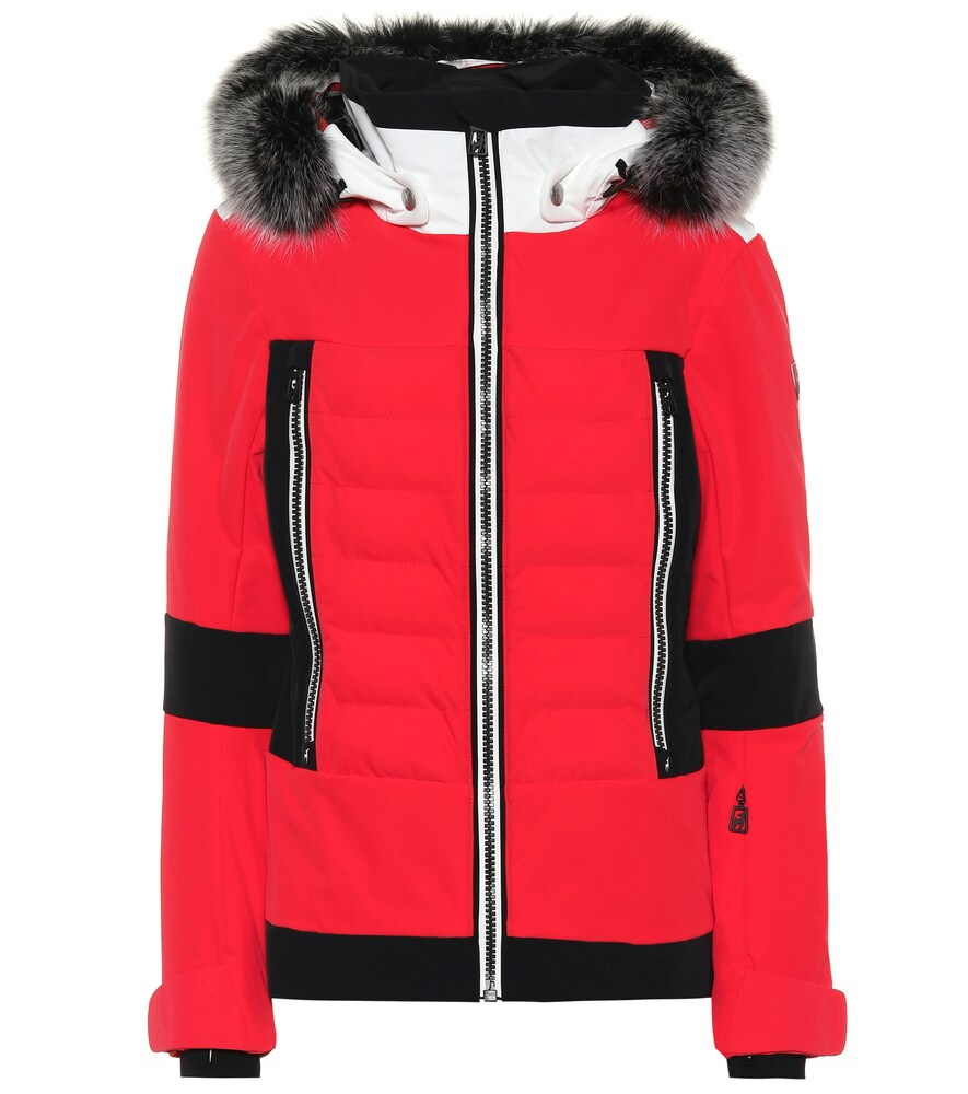 TONI SAILER Manou Ski Jacket in Red