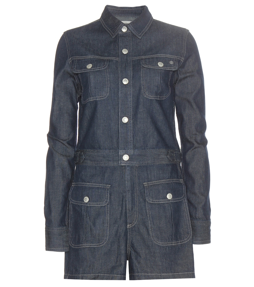 Loretta denim playsuit