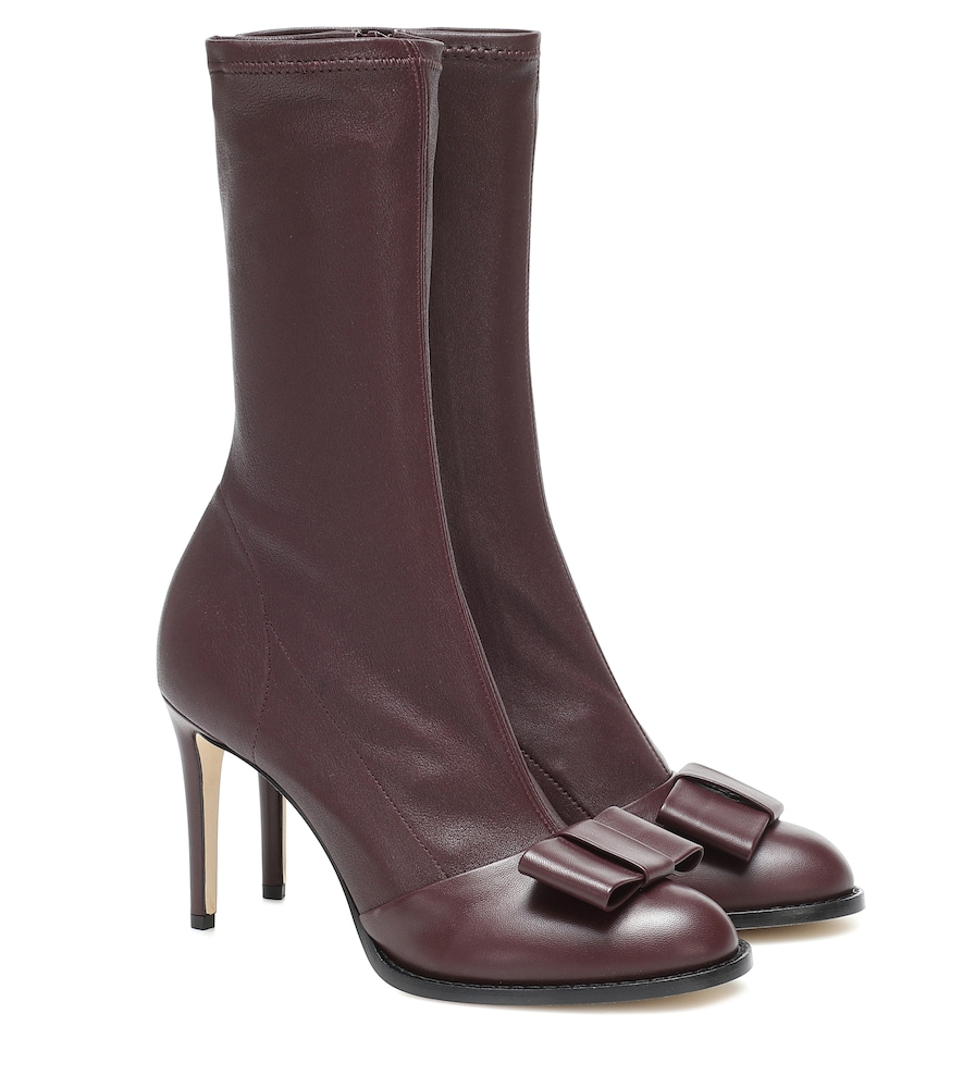 Bottines Onyx 90 en cuir