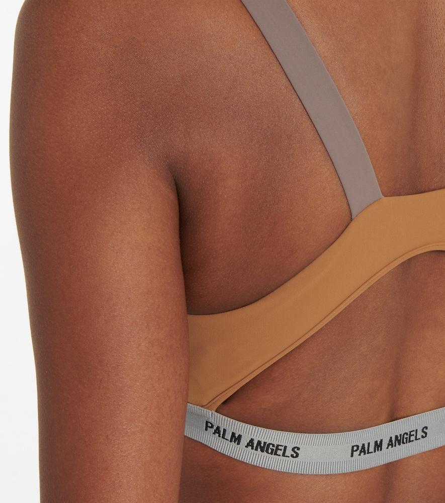 PALM ANGELS Activewears STRETCH-JERSEY SPORTS BRA