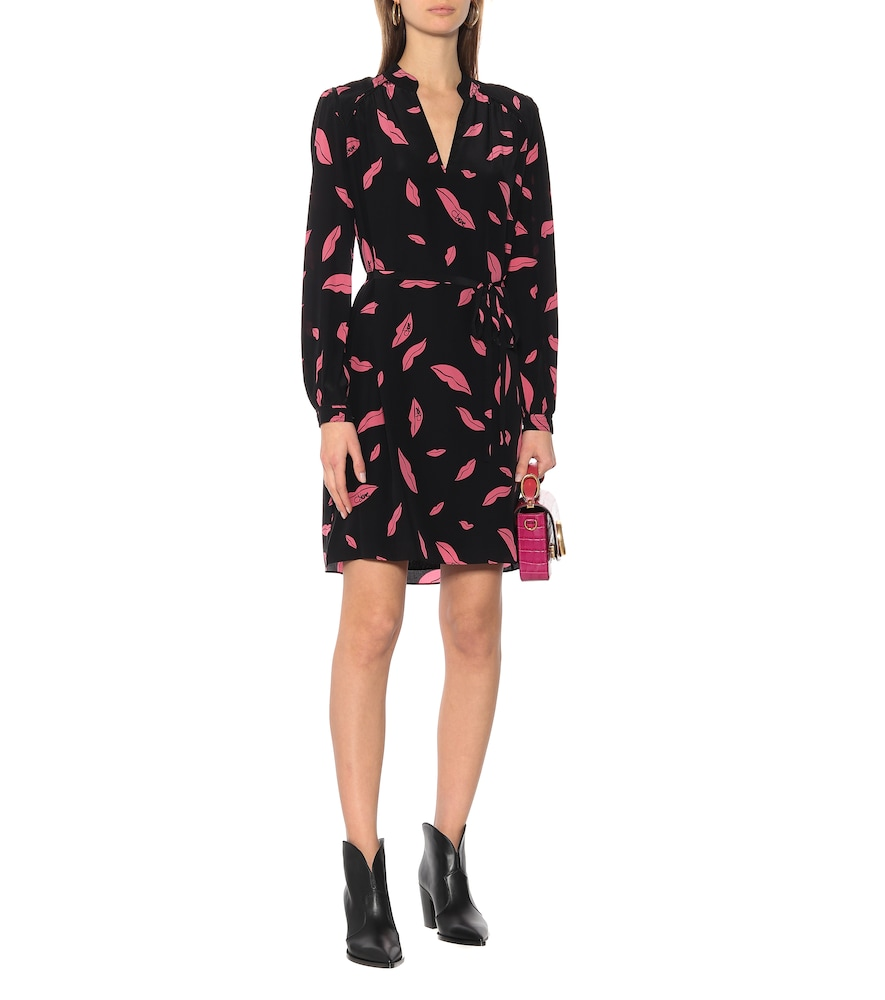 Glenda silk crêpe de chine dress by Diane von Furstenberg