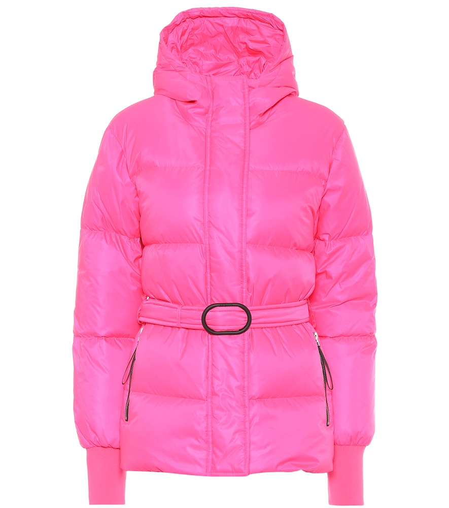 Belted puffer jacket by Kenzo