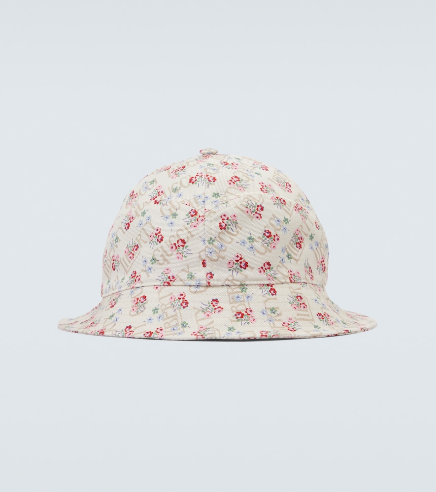 Gucci LIBERTY FLORAL CANVAS BUCKET HAT