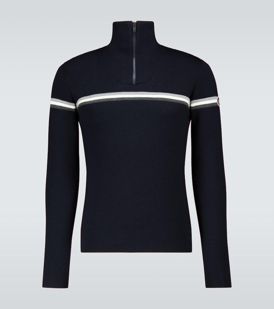 Wengen III half-zipped sweater