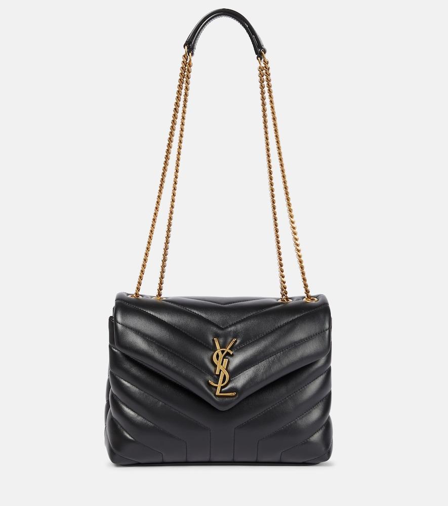 SAINT LAURENT | Small Loulou Monogram Shoulder Bag | Goxip