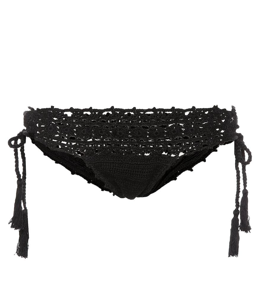 Culotte de bikini en crochet de coton Darling