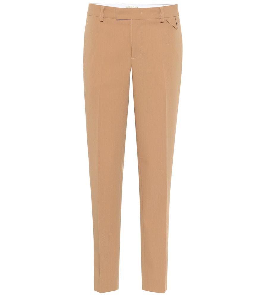 Pantalon en gabardine de laine - Bottega Veneta - Modalova