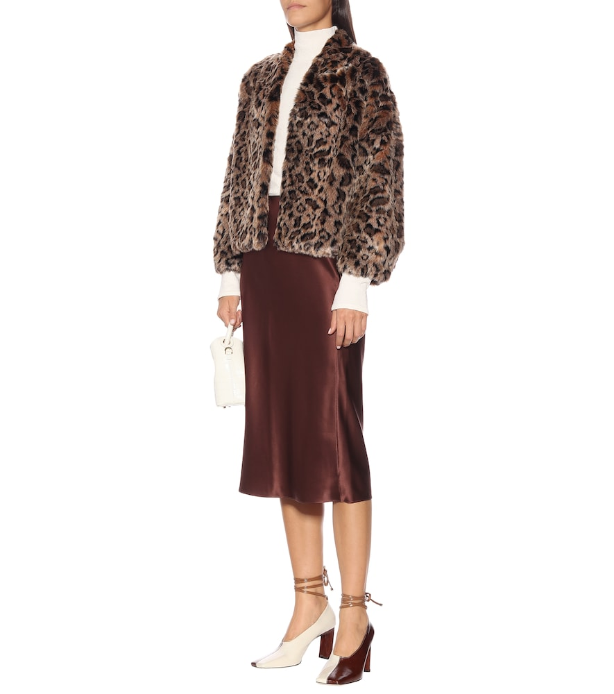 Anne faux fur jacket by Velvet