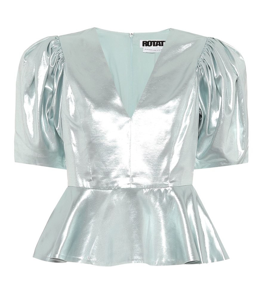 Mindy metallic top