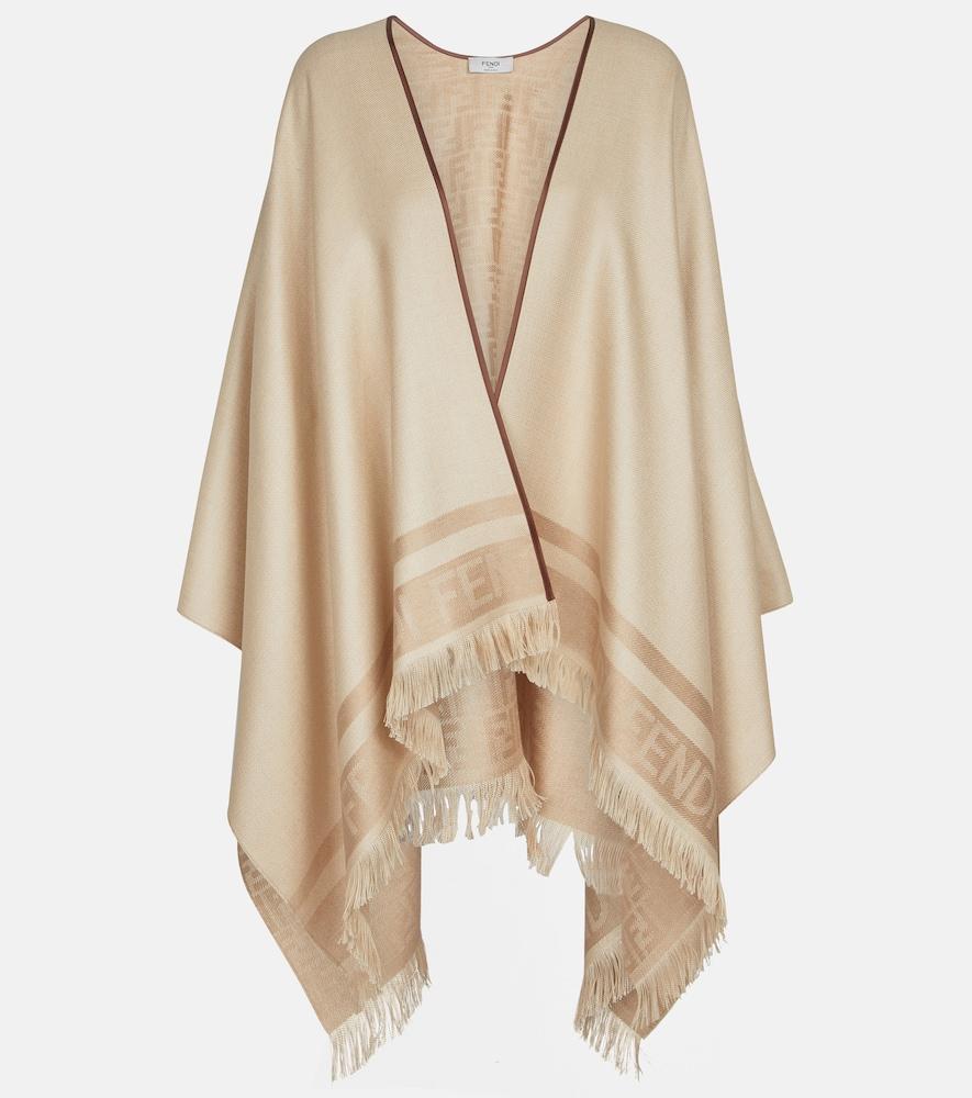 Châle en soie et cachemire