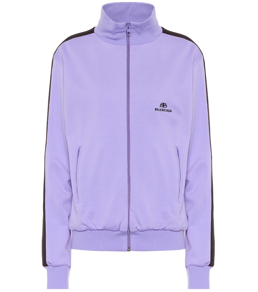Funnel-neck track jacket by Balenciaga