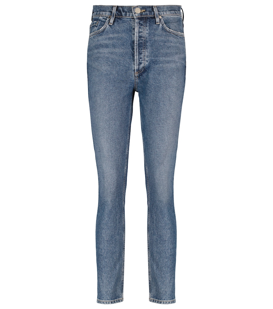 The High-Rise Slim jeans