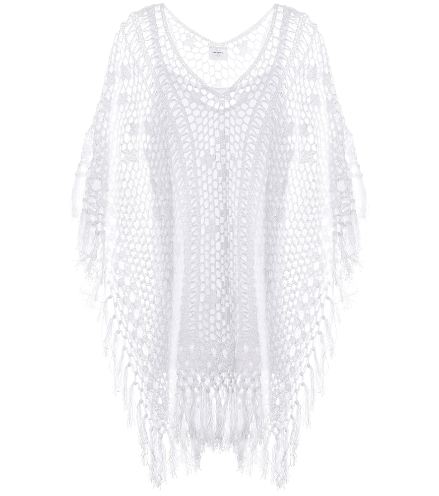 Robe en crochet de coton Tassel