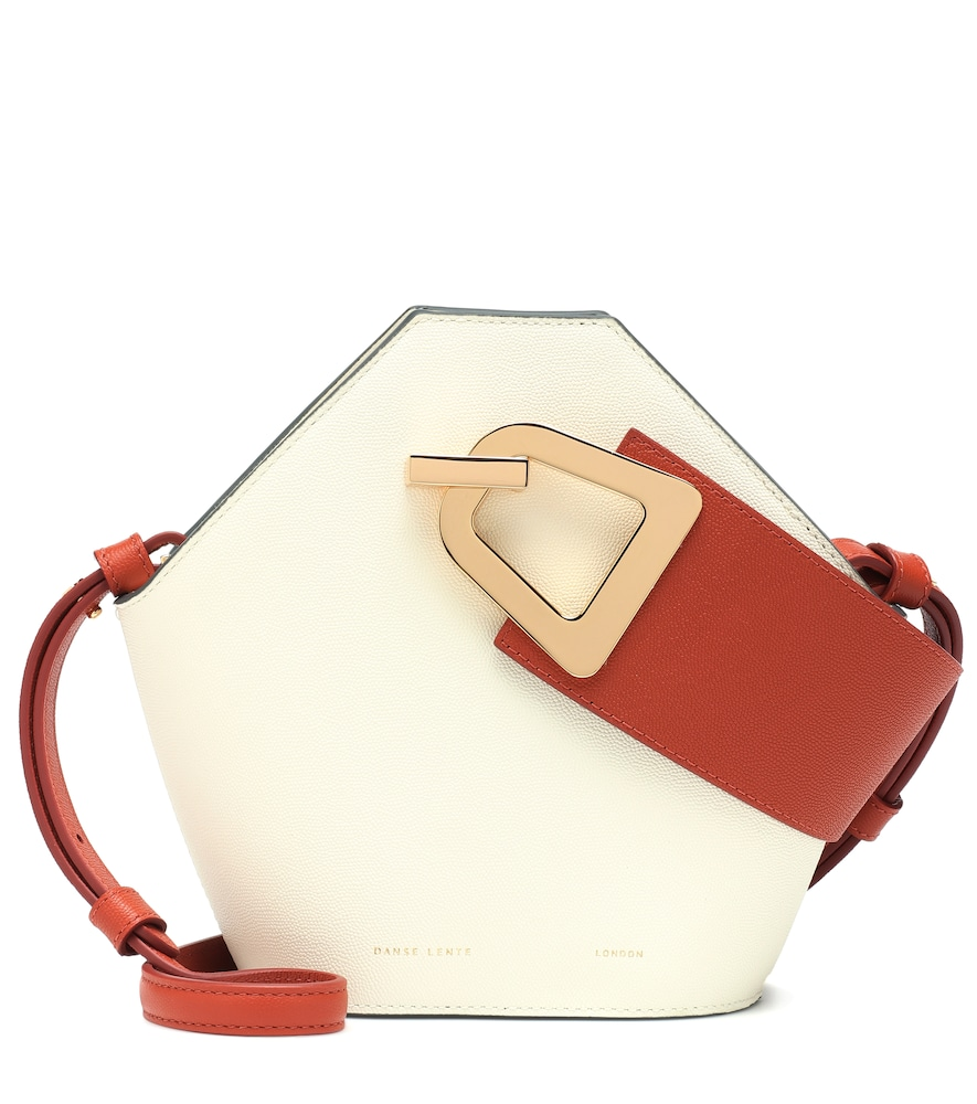 Danse Lente MINI JOHNNY LEATHER BUCKET BAG