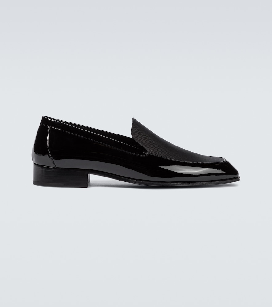Henry patent leather loafers