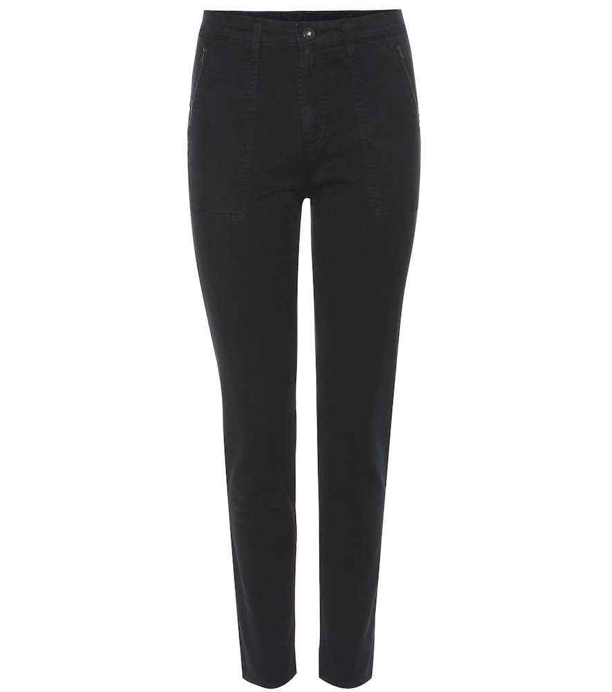 The Kinsley cropped skinny trousers