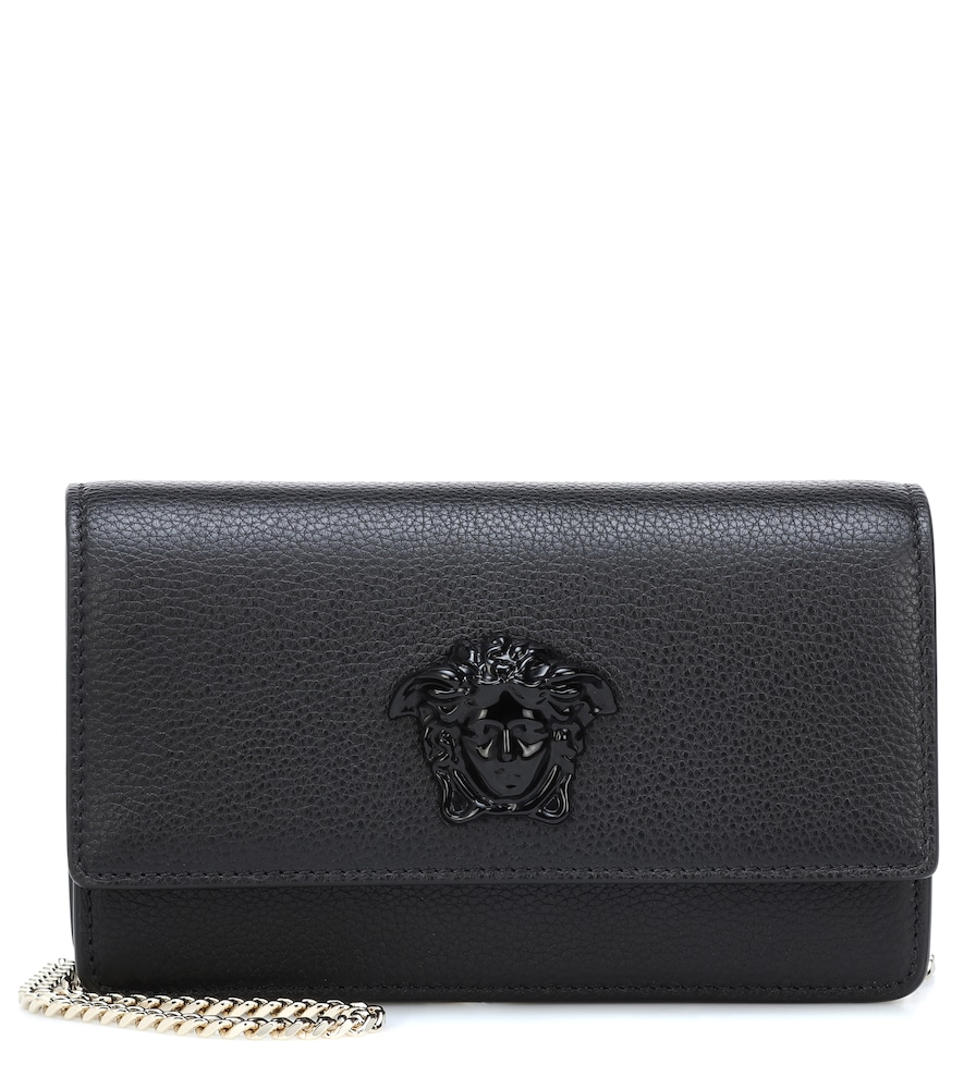 PALAZZO LEATHER CLUTCH