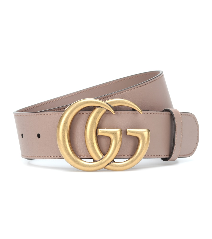 GUCCI | GG leather belt | Goxip