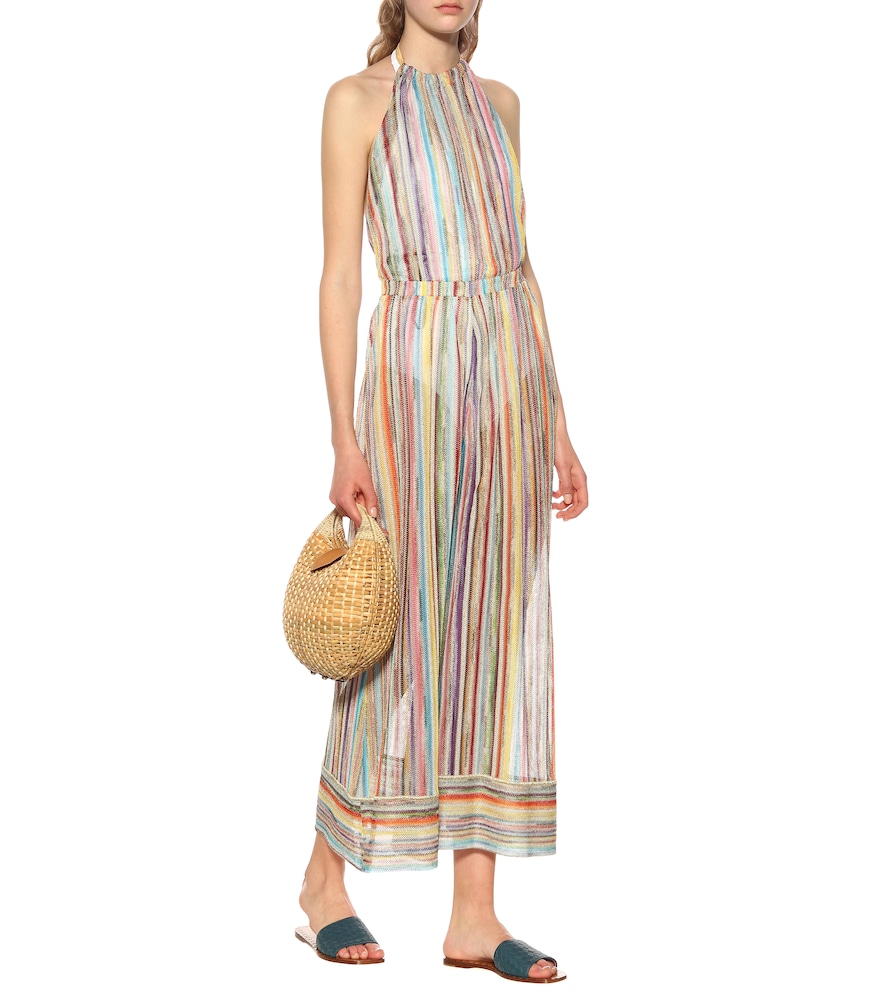 Striped knit jumpsuit by Missoni Mare