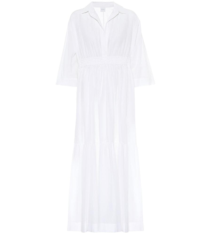 Robe longue en coton - Max Mara - Modalova