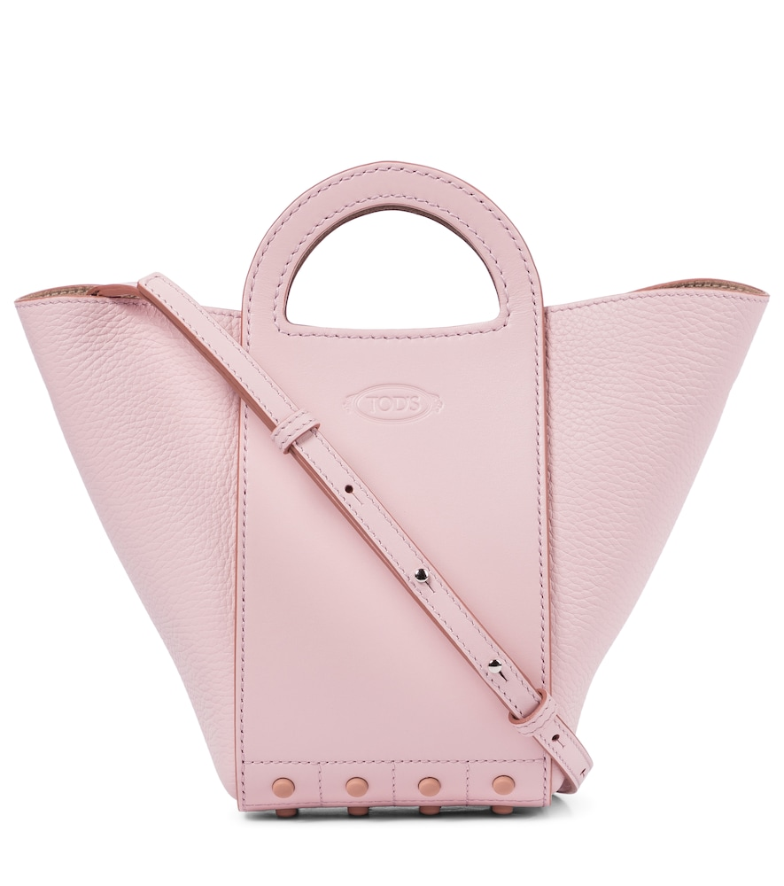 Tod's GOMMINI LEATHER TOTE