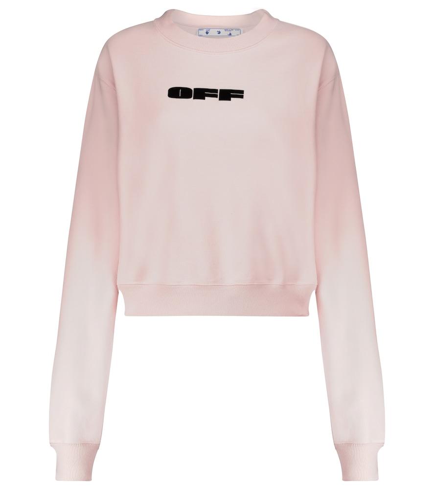 Bold logo cotton sweatshirt
