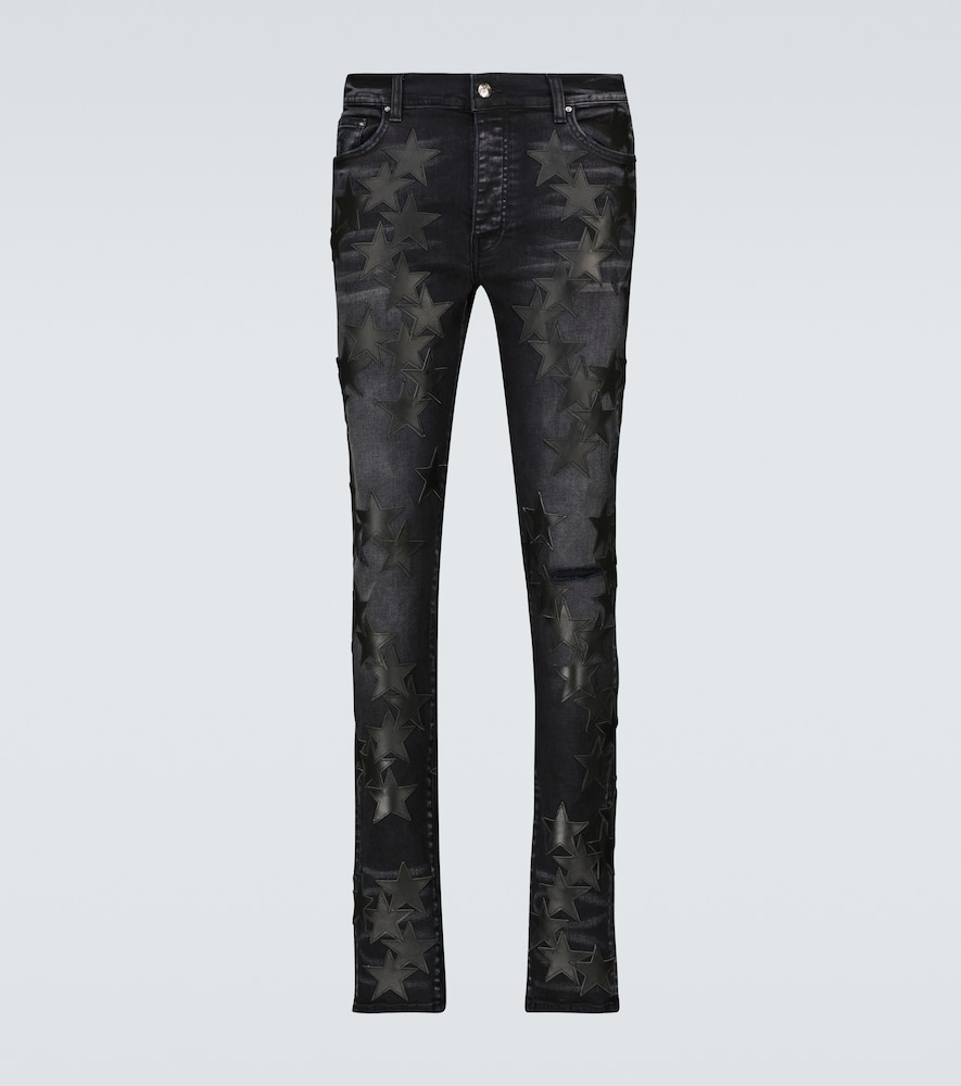 Chemist Leather Stars jeans
