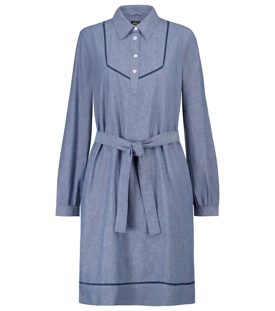 Maeve cotton chambray shirt dress by A.P.C.