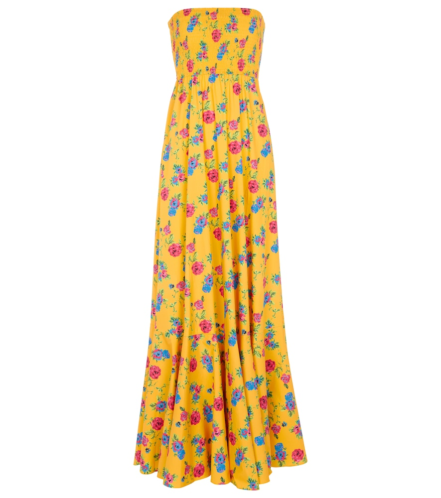 Haisley floral maxi dress