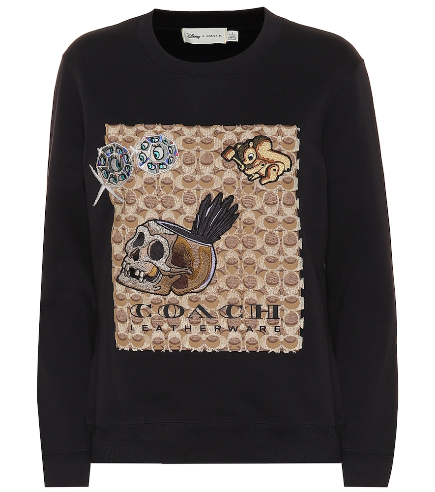 1941 X Disney Signature C Sweatshirt, Black