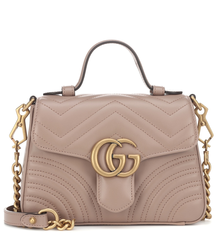 Gucci Small Gg Marmont 2.0 Matelasse Leather Camera Bag - Beige In Nude   ModeSens