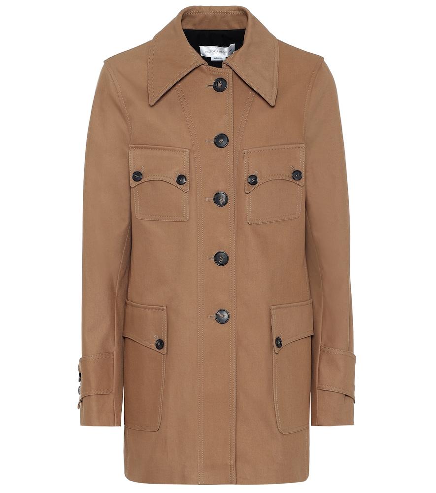 Saharan cotton jacket by Victoria Beckham