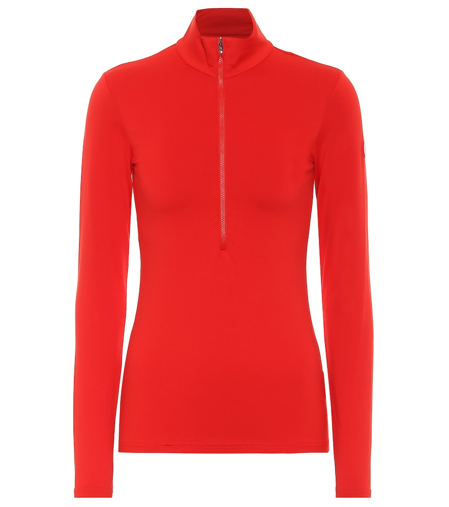 Ski Gemini III high-neck zip-up sweater