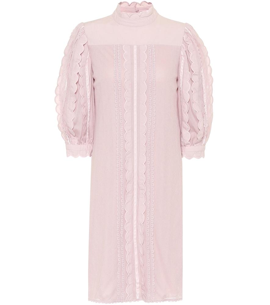 Robe en coton et dentelle - See By Chloé - Modalova